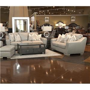 Leather Sofa & Loveseat