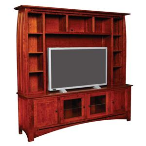 Simply Amish Aspen Deluxe Entertainment Center