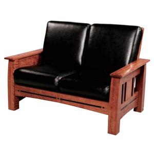 Simply Amish Aspen Loveseat