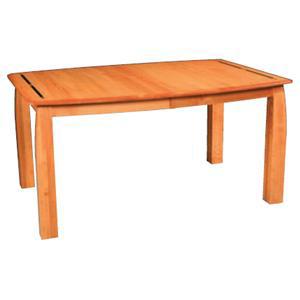Simply Amish Aspen Leg Table