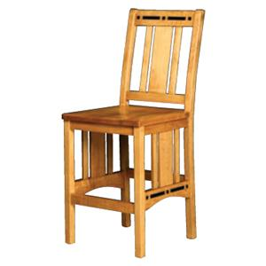 Simply Amish Aspen Breakfast Stool