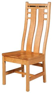 Simply Amish Aspen Colorado Side Chair - Item Number: SACOLS