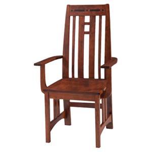 Simply Amish Aspen Prairie Aspen Arm Chair