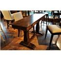 Simply Amish Avalon Sofa/Dining Table - Item Number: LOAVA-18A0