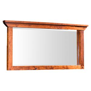 Simply Amish B and O Railroad Medium Bureau Mirror