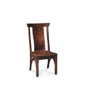 Simply Amish BO Railroad Trestle Bridge Side Chair