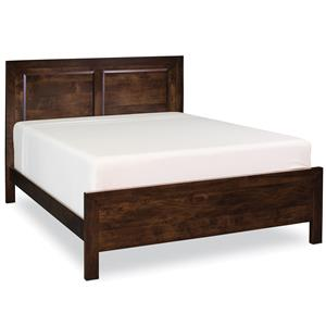 Simply Amish Beaumont SA Queen Panel Bed