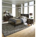 Simply Amish Beaumont SA King Panel Bed with Block Feet