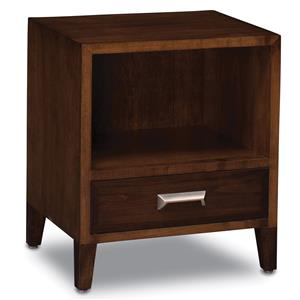 Simply Amish Beaumont SA Nightstand with Opening
