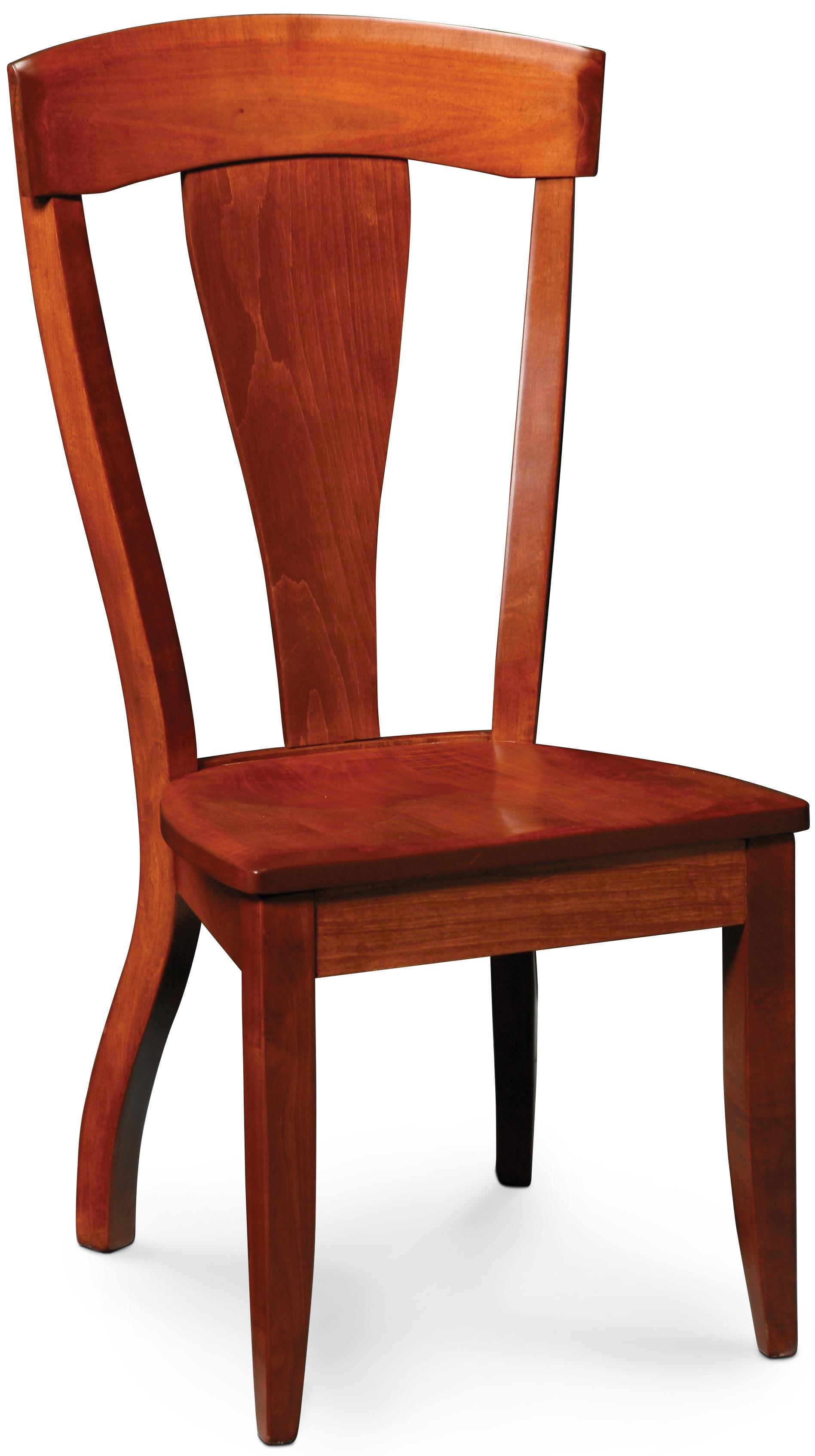 Simply Amish Brookfield Side Chair - Item Number: SABFS-W-C28