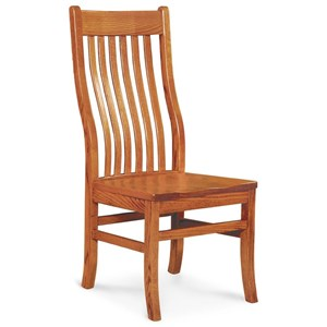 Simply Amish Chairs Urbandale II Side Chair