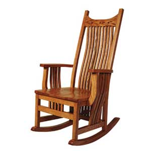 Simply Amish Royal Mission Rocker