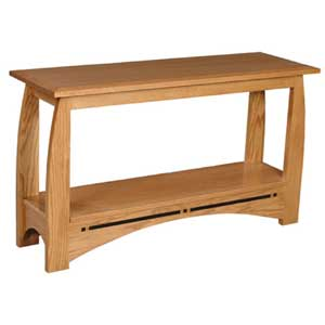 Simply Amish Aspen Sofa Table