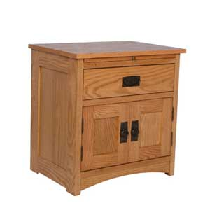 Simply Amish Prairie Mission Deluxe Nightstand