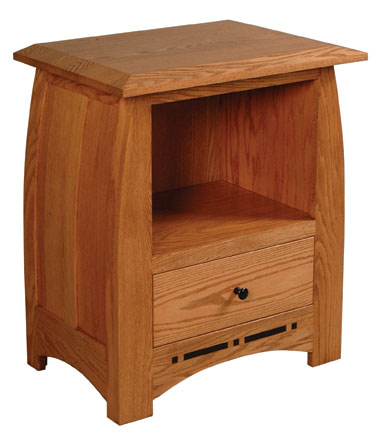 Nightstand with Opening