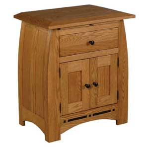 Simply Amish Aspen Nightstand