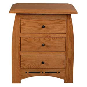 Simply Amish Aspen Bedside Chest