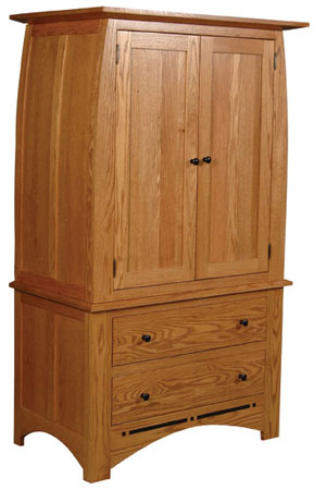 Tall Armoire on Chest