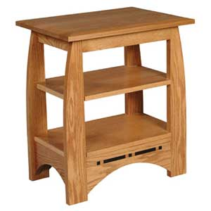 Simply Amish Aspen Telephone Table