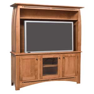 Simply Amish Aspen 2-Piece Widescreen Center