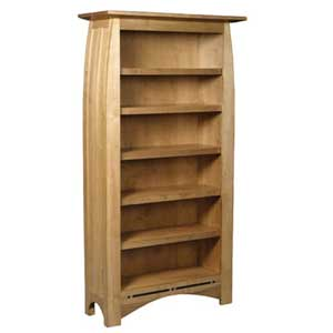Simply Amish Aspen Tall Bookcase