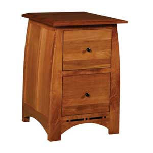 Simply Amish Aspen 2-Drawer File Cabinet