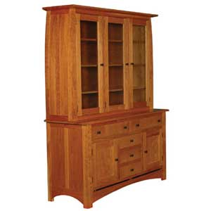Simply Amish Aspen 3-Door Hutch