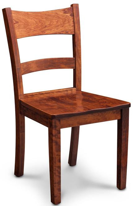 Simply Amish Express Shenandoah Side Chair - Item Number: ECXSHE-02A-W-K