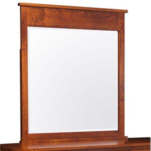 Simply Amish Express Shenandoah Express Dresser Mirror