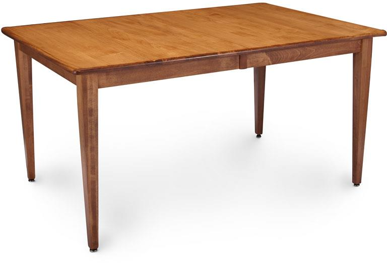 Simply Amish Express Leg Table - Item Number: MSX-LT4060-2-S28