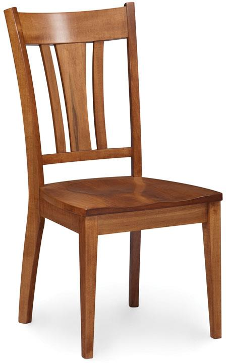 Simply Amish Express Sheffield Side Chair - Item Number: SPXSHS-W-K26