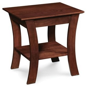 Simply Amish Express Grace End Table