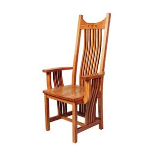 Simply Amish Royal Mission Arm Chair