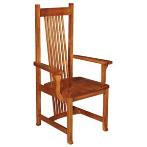 Simply Amish Shaker Amish Hill Arm Chair
