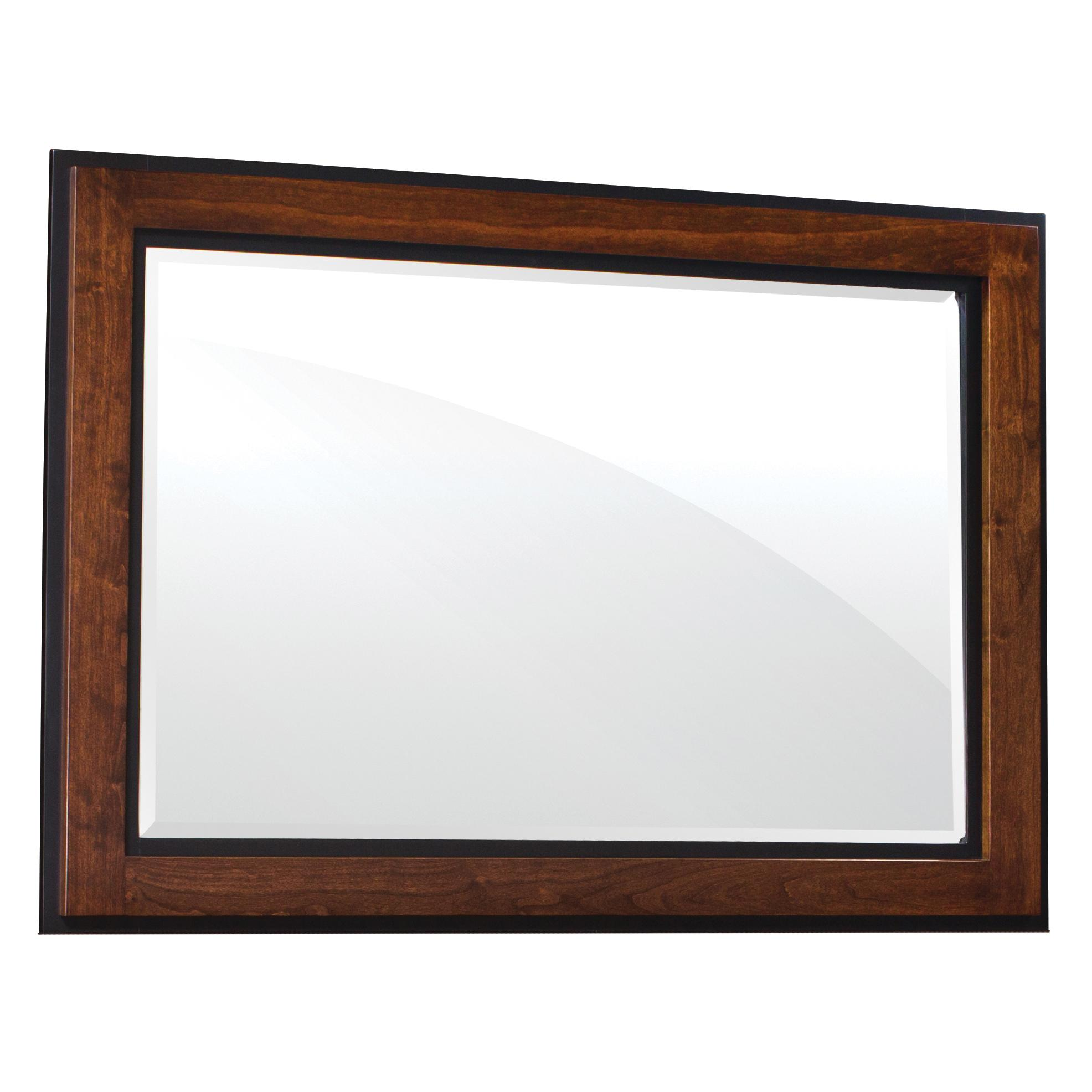 Simply Amish Frisco Mule Chest Mirror - Item Number: SMFRI-08A0-C30