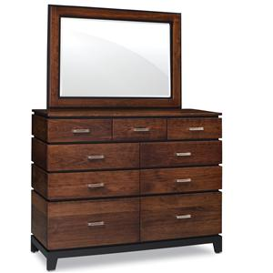 Simply Amish Frisco Mule Chest with Mirror