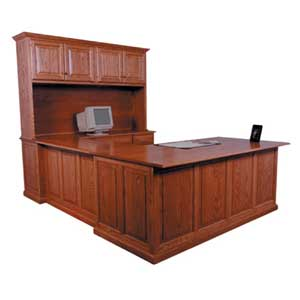Simply Amish Classic U-Shaped Desk