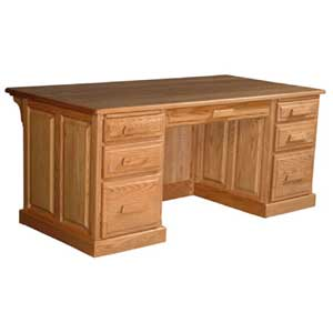 Simply Amish Classic Executive Desk