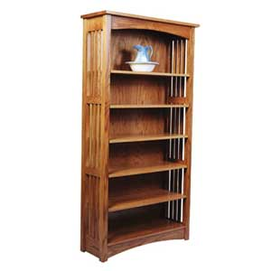 Simply Amish Mission Amish Bookcase