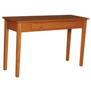 Simply Amish Shaker Amish Drawer Sofa Table