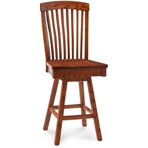 Simply Amish Justine Barstool with Swivel
