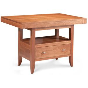 Simply Amish Justine Island Table