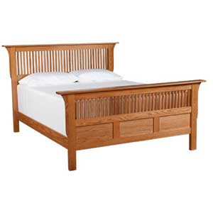 Simply Amish Prairie Mission Queen Panel Bed