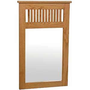 Simply Amish Mission Amish Dressing Mirror