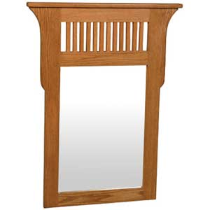 Simply Amish Prairie Mission Wall Mirror