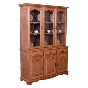 Simply Amish Classic 3 Door Closed Hutch