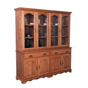 Simply Amish Classic Classic 4 Door Closed Hutch