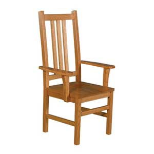 Simply Amish Mission Amish Arm Chair