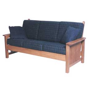 Simply Amish Mission Amish Sofa