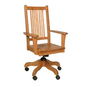 Simply Amish Prairie Mission Desk Chair